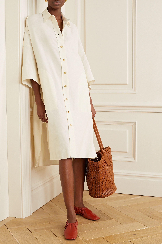 Joseph Baker cotton and linen-blend dress