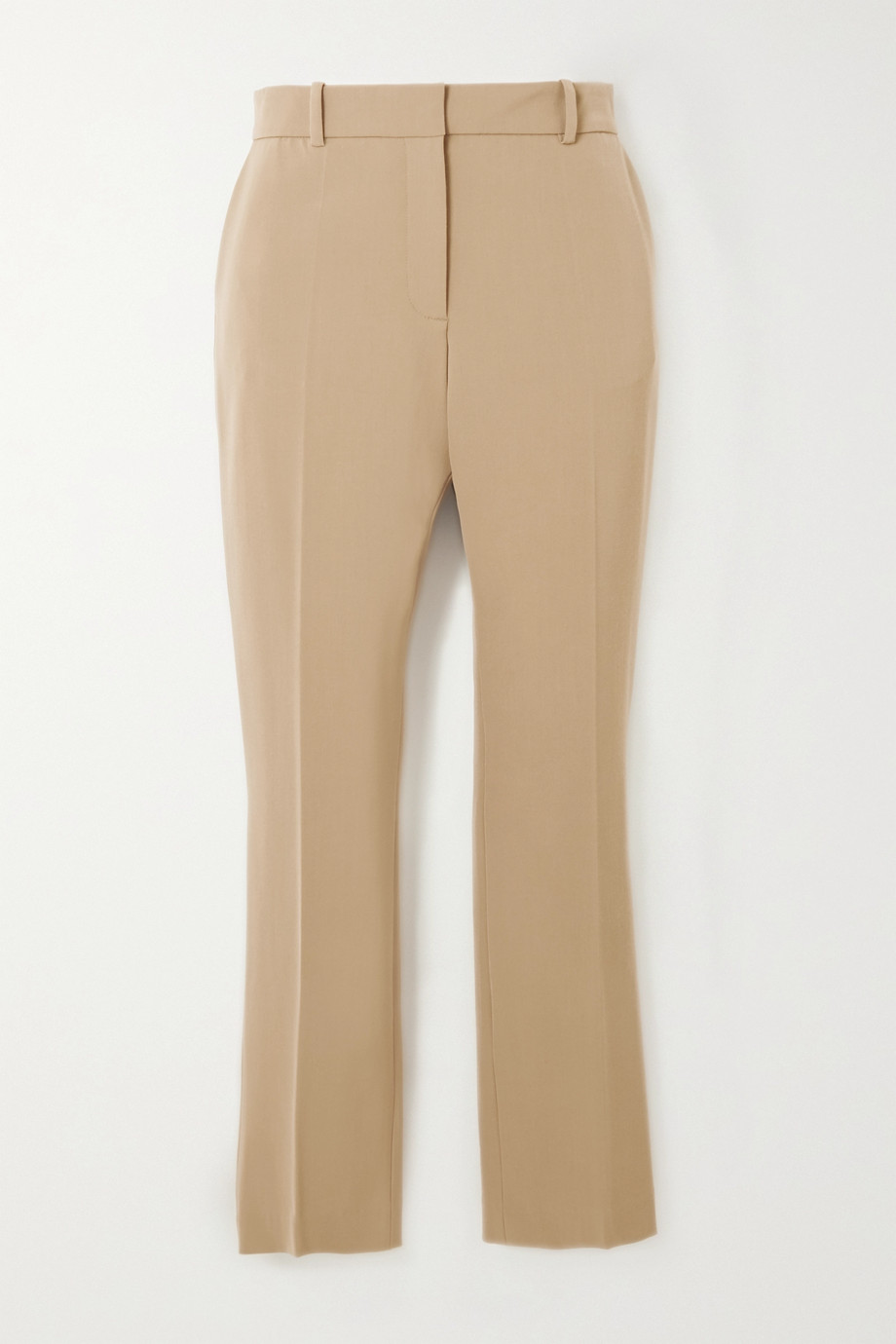 Joseph Coleman cropped wool-blend straight-leg pants
