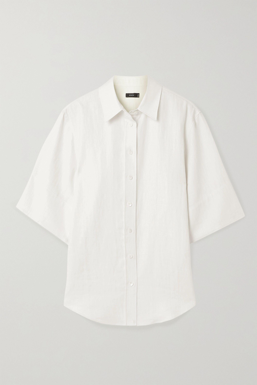 Joseph Starr linen-blend shirt
