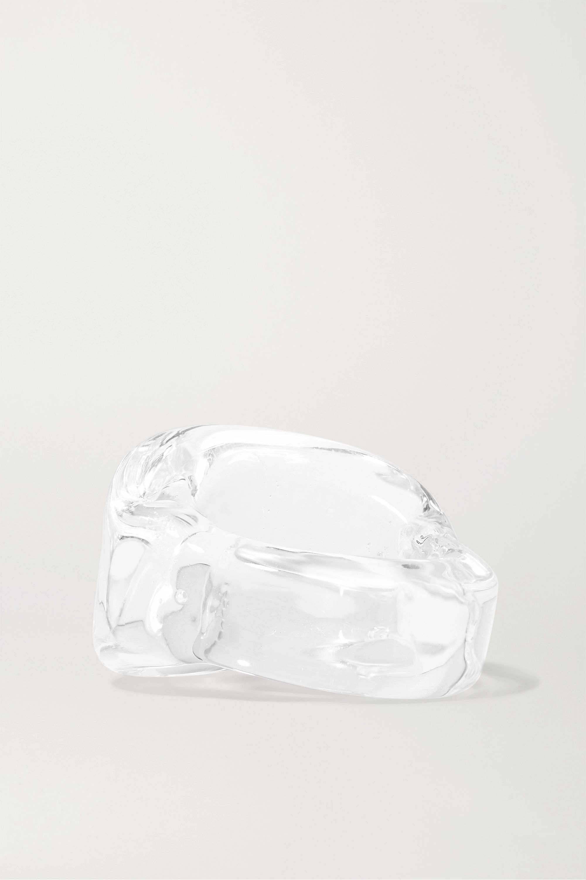 Maryam Nassir Zadeh Wave glass ring