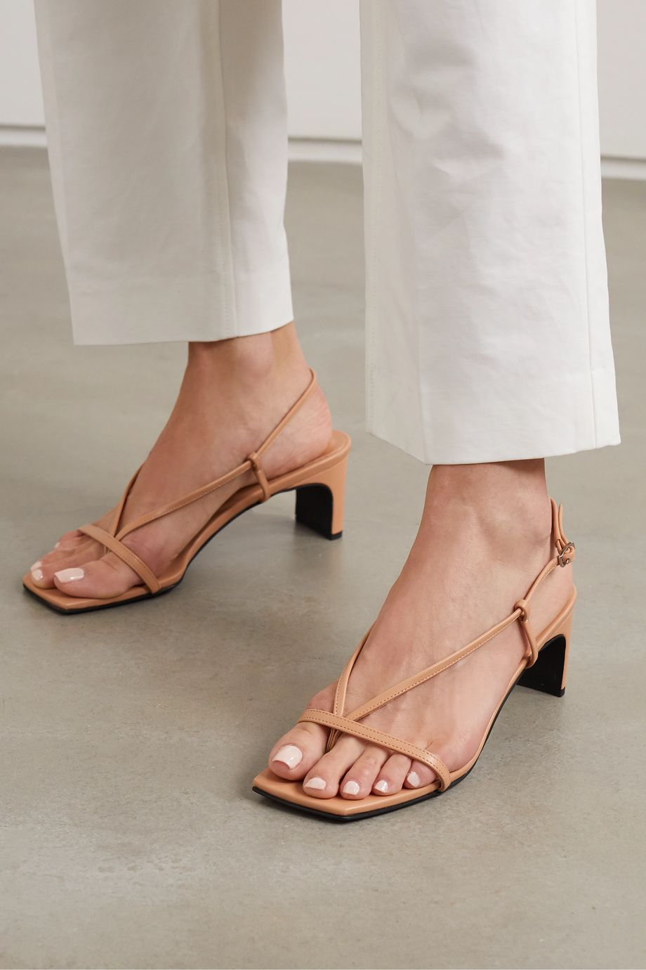 BEVZA Leather sandals