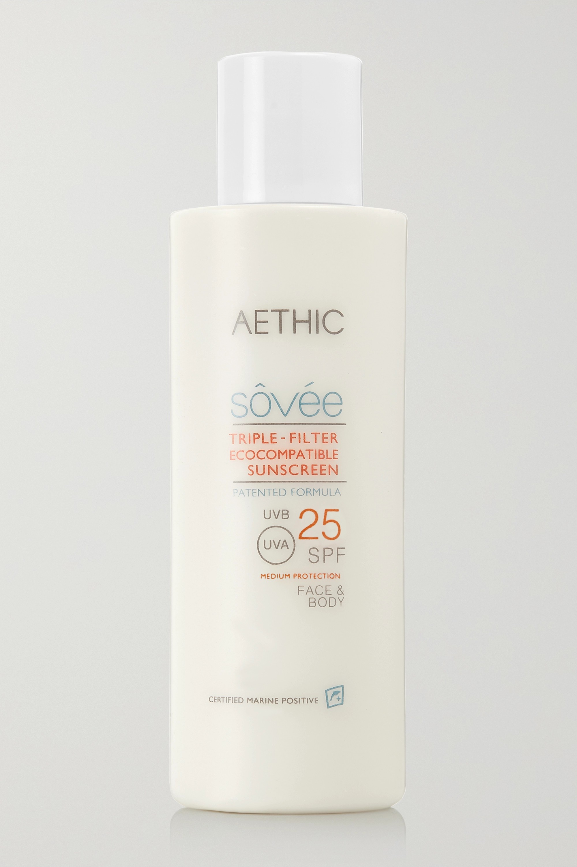 Aethic Triple-Filter Ecocompatible Sunscreen SPF25, 150ml