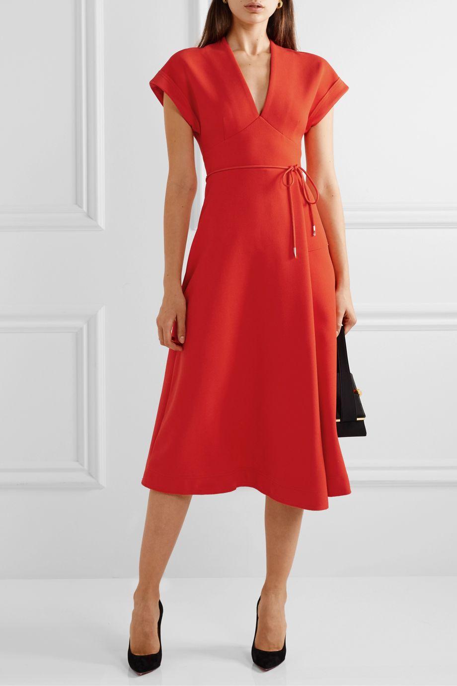 Rebecca Vallance Galerie cloqué midi dress