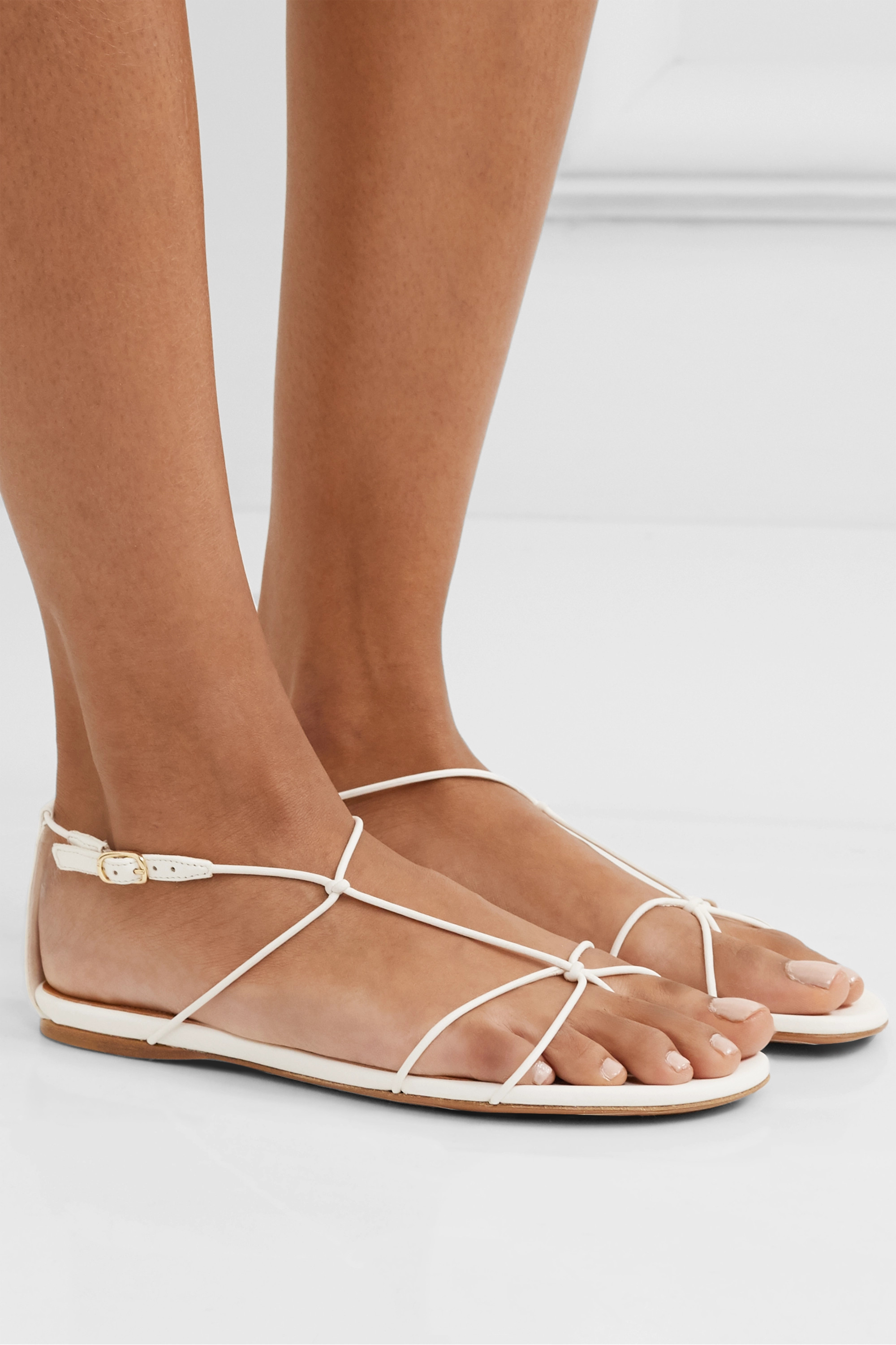 Zimmermann Knotted leather sandals