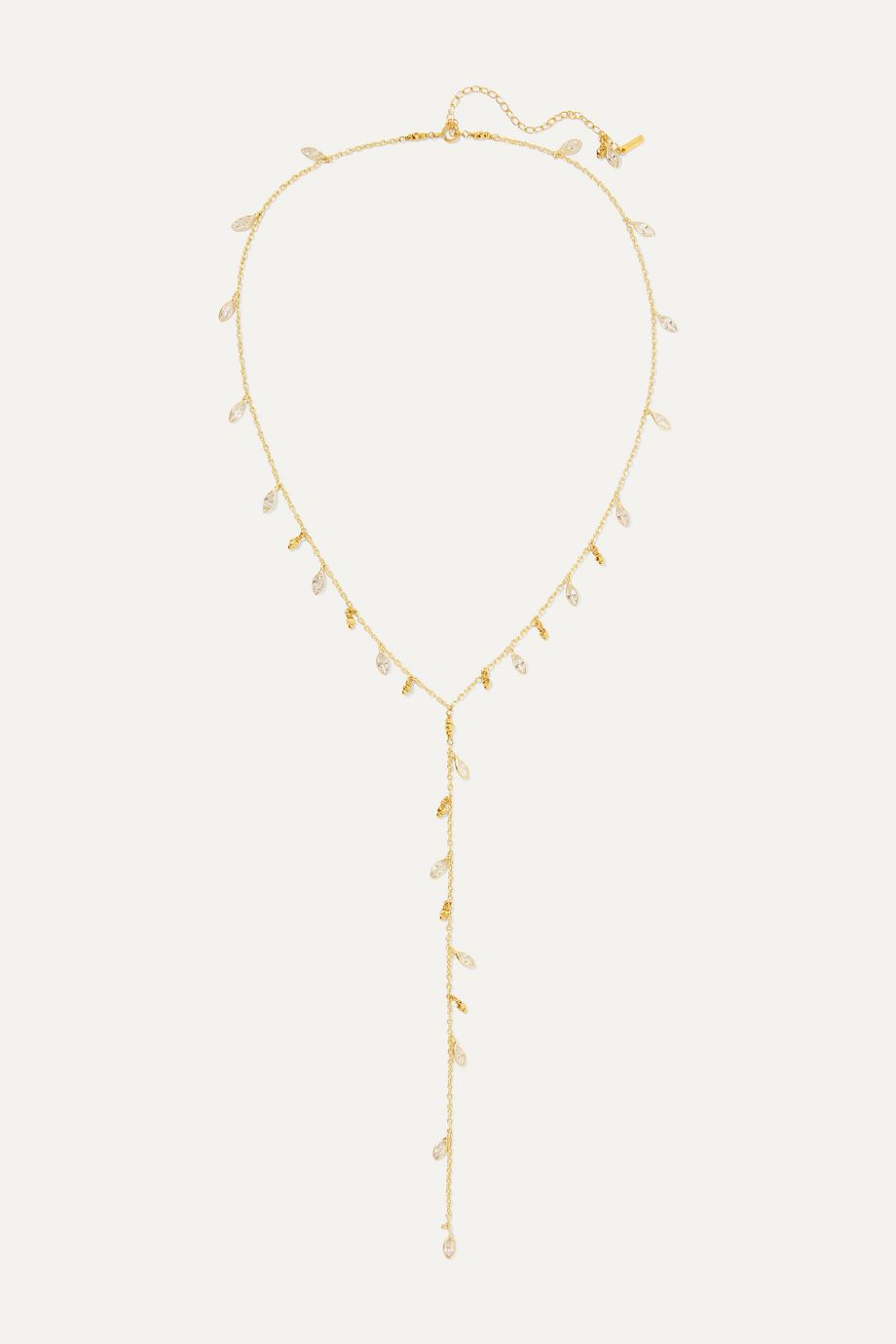 Chan Luu Gold-plated Swarovski crystal necklace