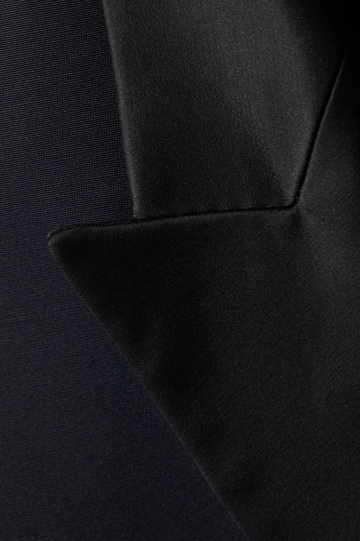 The Row Manteau en laine et soie mélangées Ivana