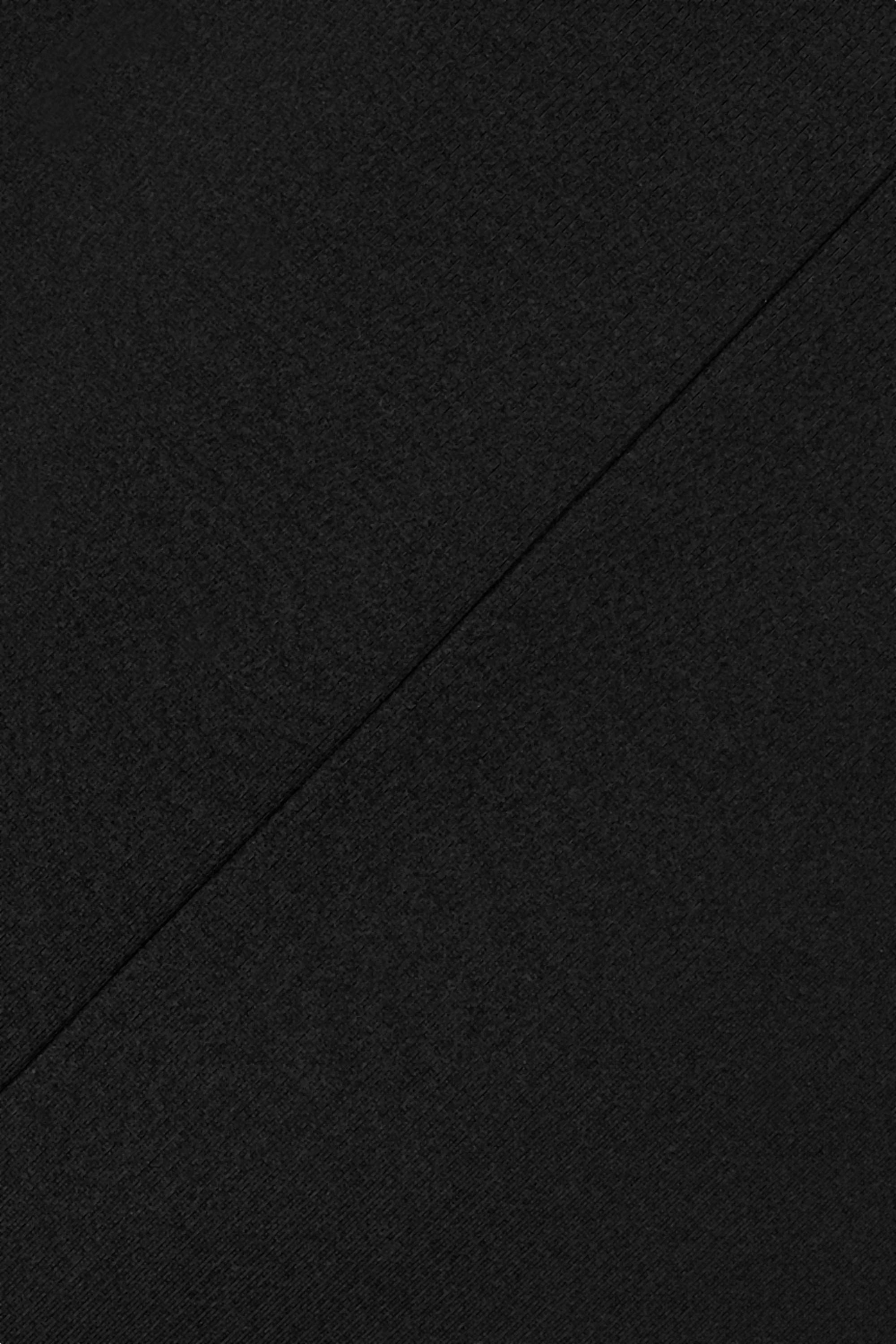 Noir Robe Longue En Cady Cobai | The Row
