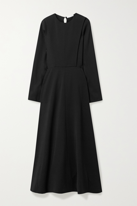 The Row Cobai paneled cady maxi dress