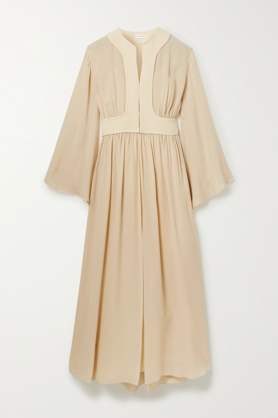 The Row Smith silk-chiffon maxi dress