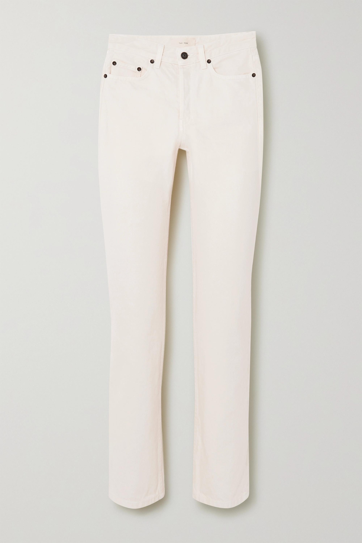 The Row Ash high-rise straight-leg jeans