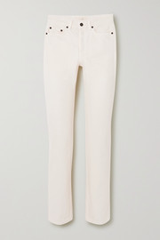 The Row Ash high-rise straight-leg jeans