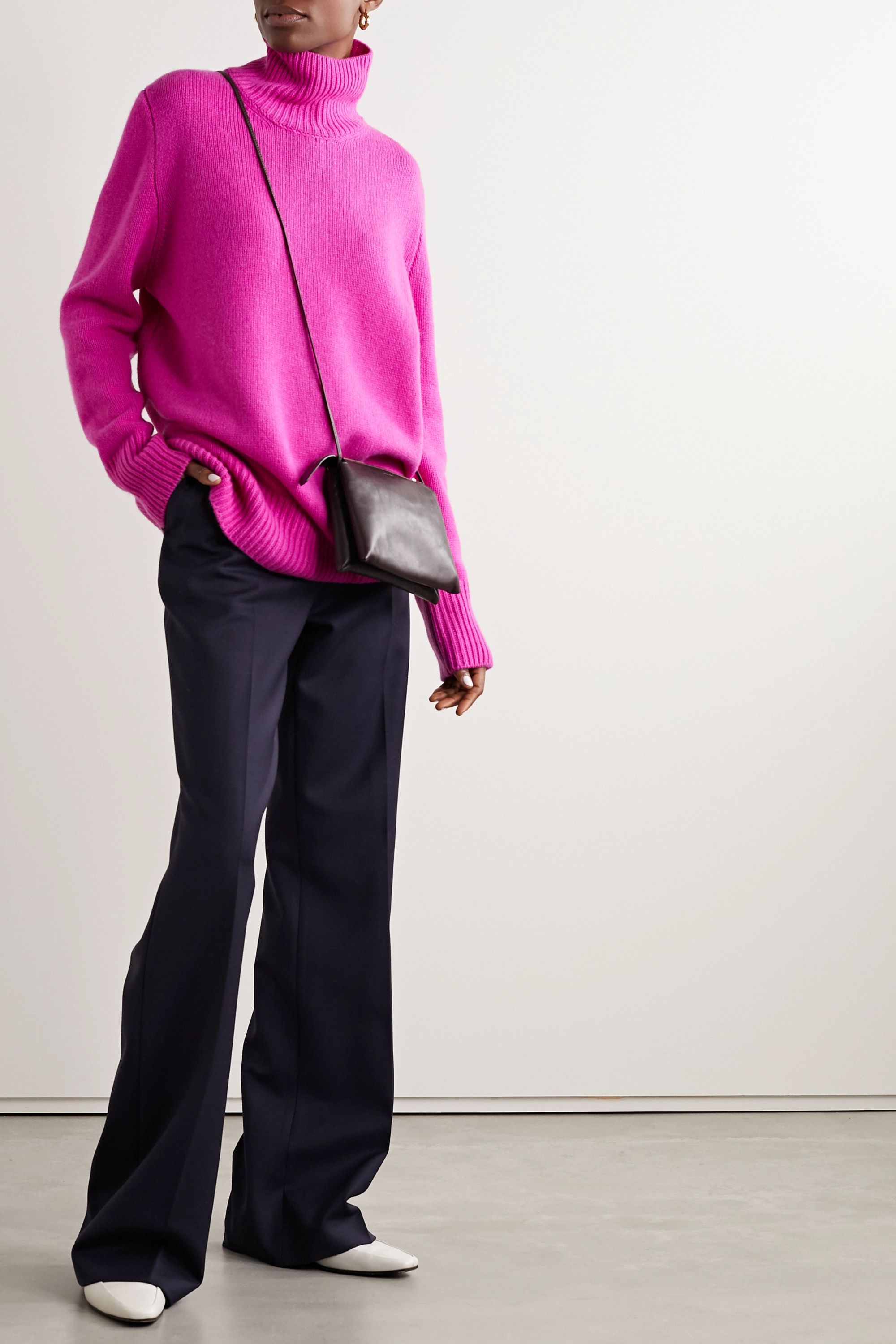 The Row Sadel cashmere turtleneck sweater