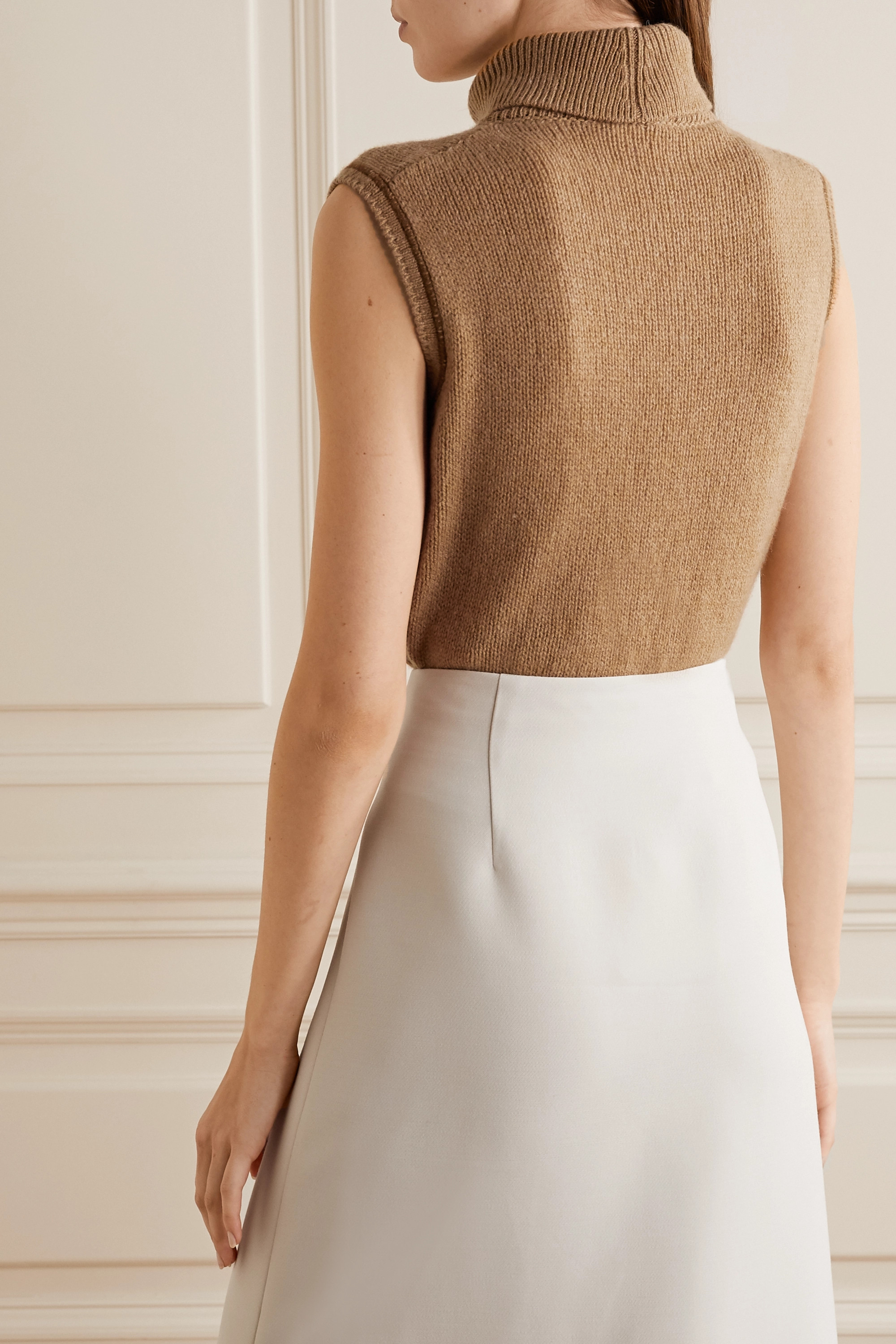 The Row Giselle cashmere turtleneck sweater