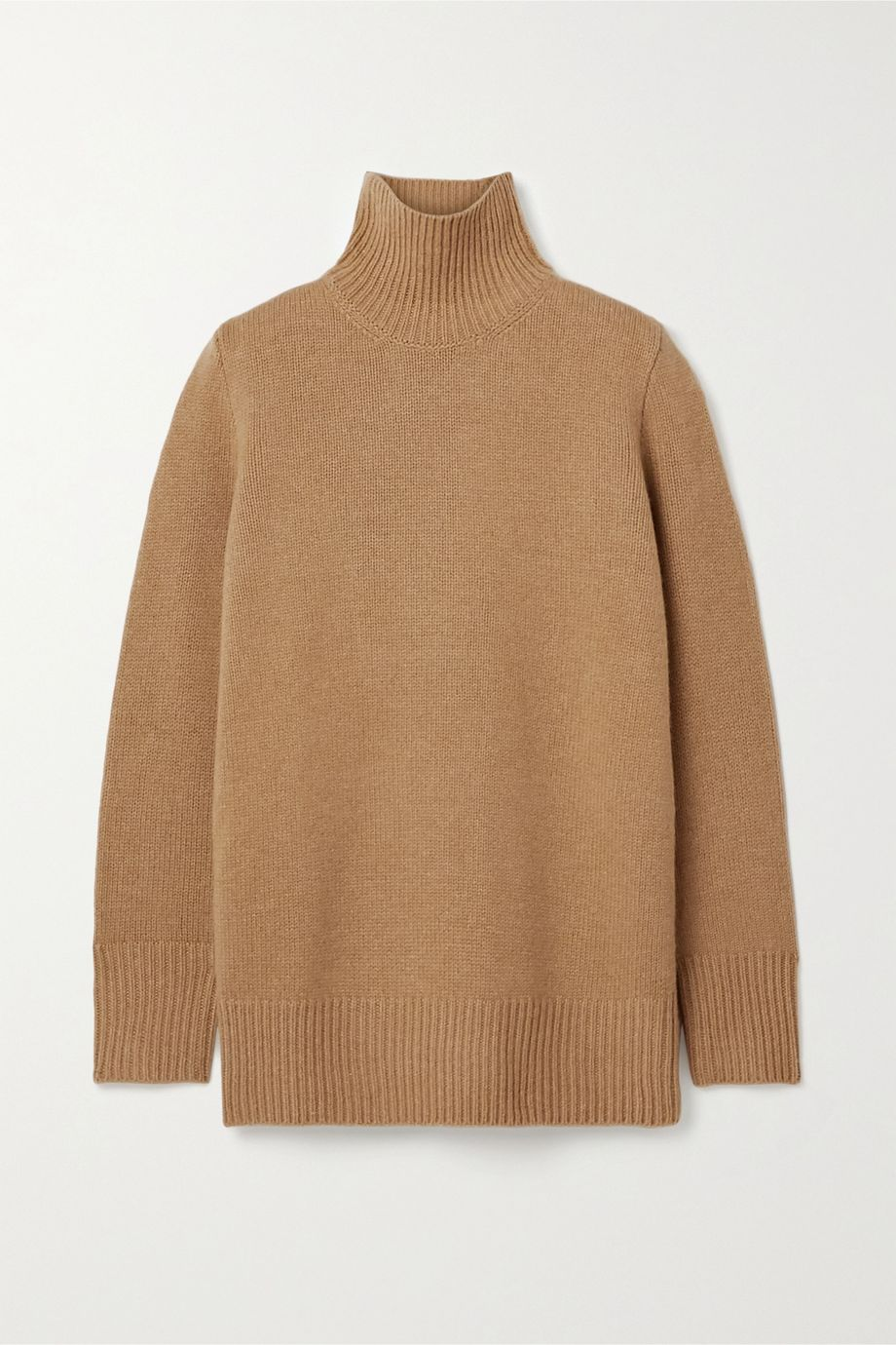 The Row Sadel Stehkragenpullover aus Kaschmir in Oversized-Passform