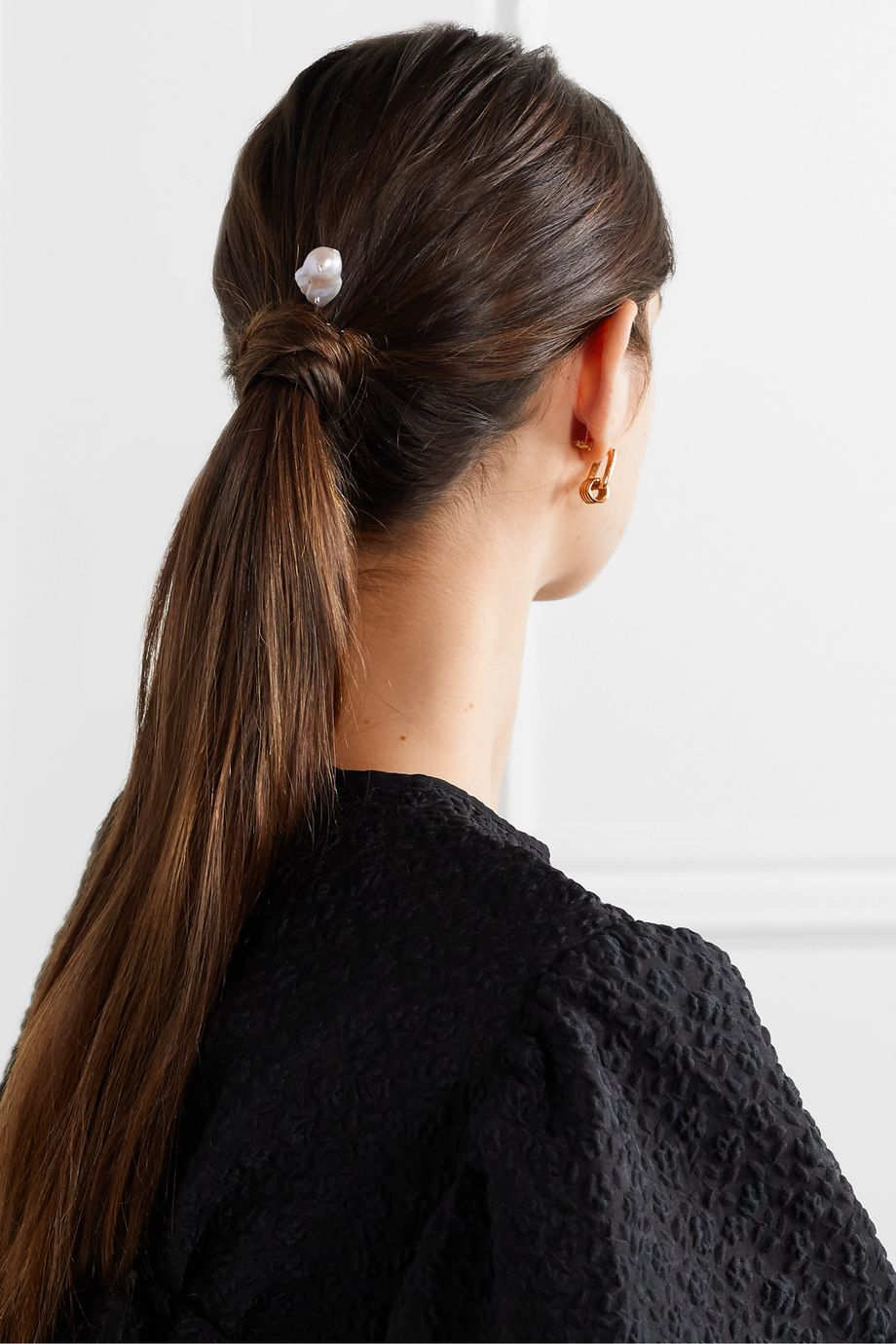 Chan Luu Silver pearl hair pin