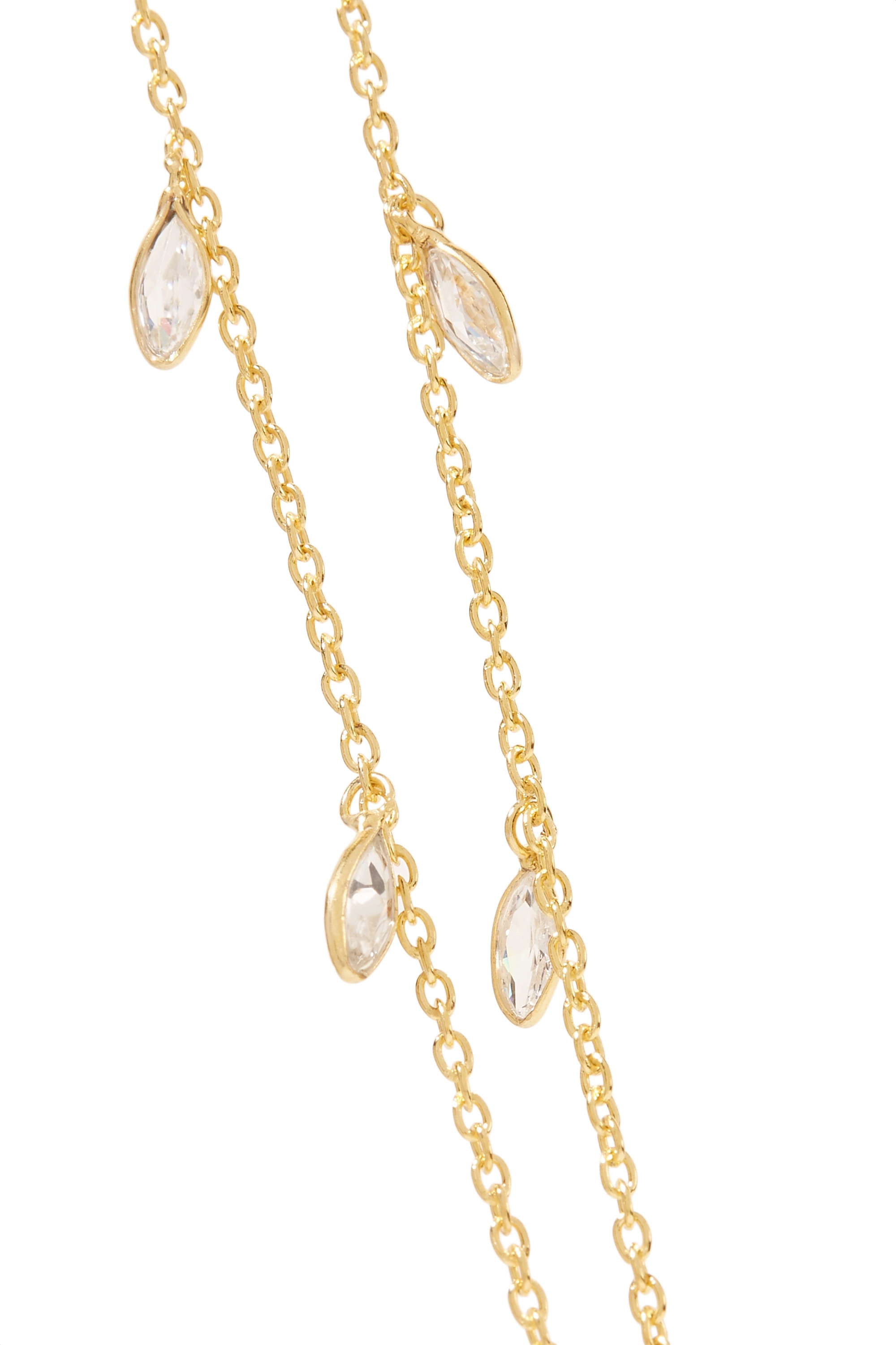 Chan Luu Gold-plated Swarovski crystal body chain