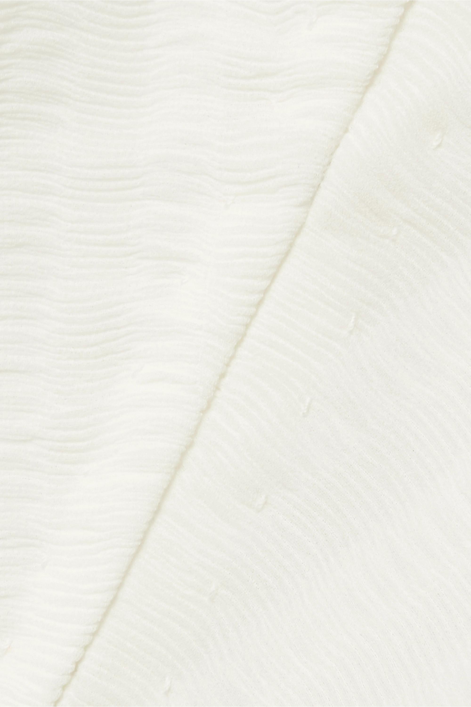 The Row Blouse en mousseline plissée Wiola