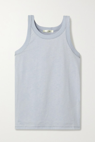 Frankie Cotton Jersey Tank by The Row