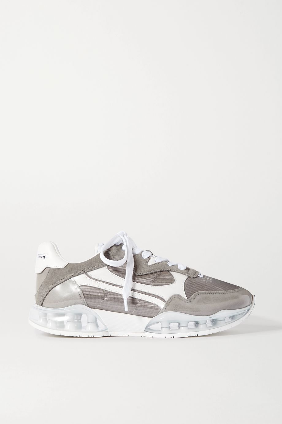 Alexander Wang Stadium PVC, leather, suede and canvas sneakers