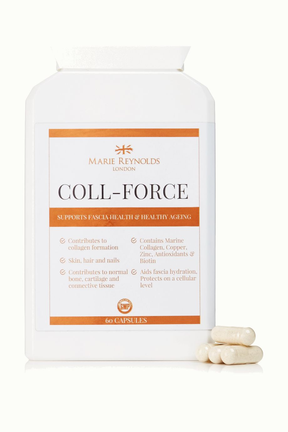 Marie Reynolds London Coll-Force (60 capsules)