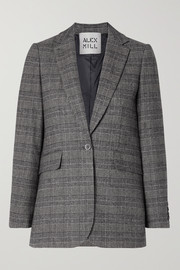 Ryder Prince of Wales checked woven blazer