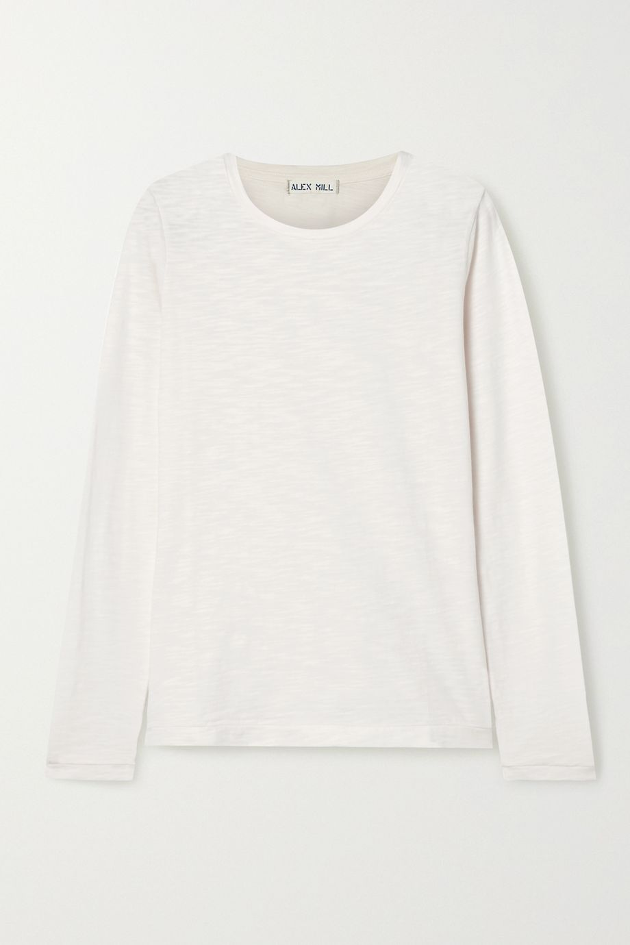 Alex Mill Slub cotton-jersey top