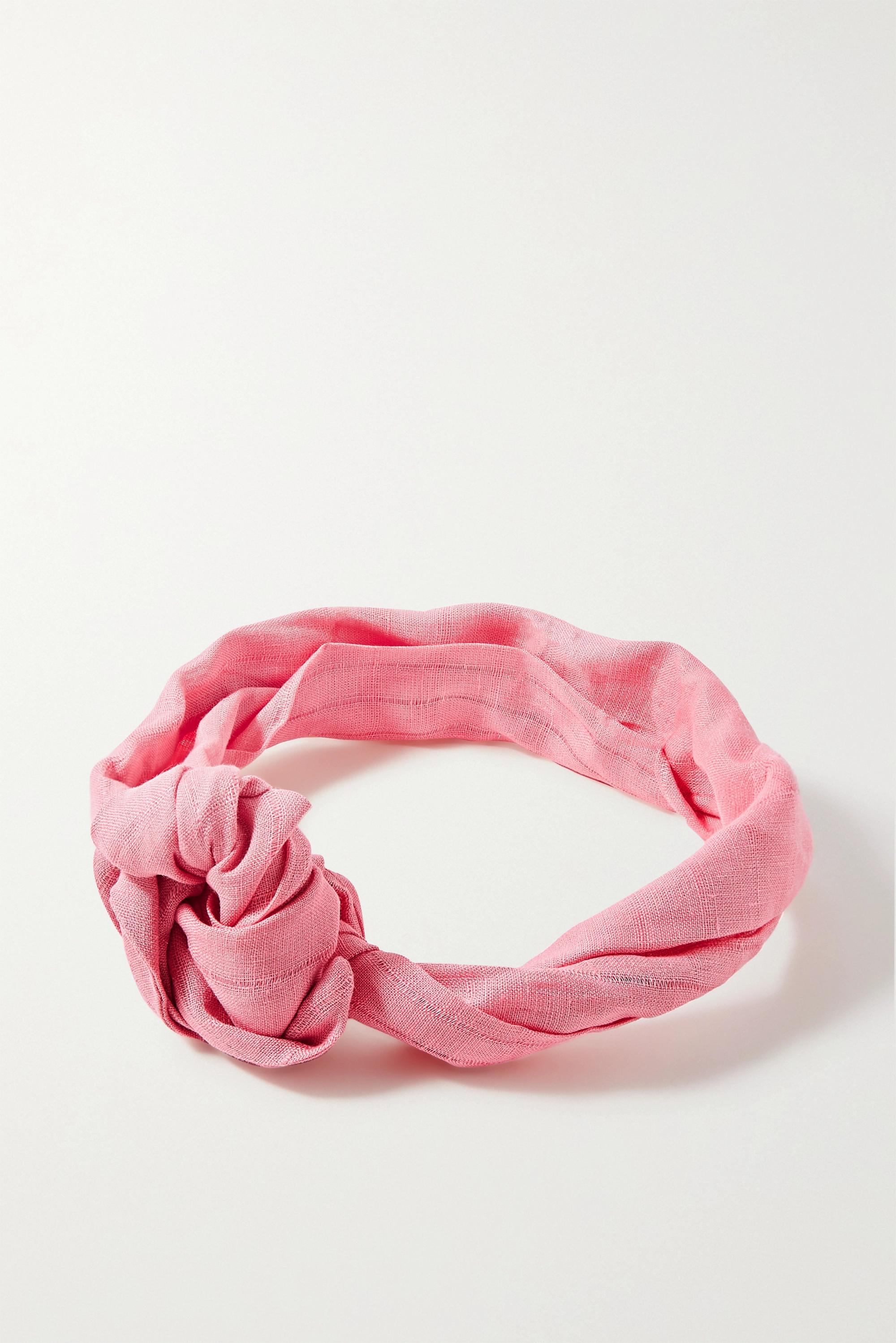 Cult Gaia Turband knotted linen headband