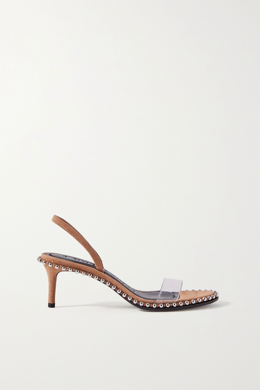alexander wang suede sandals