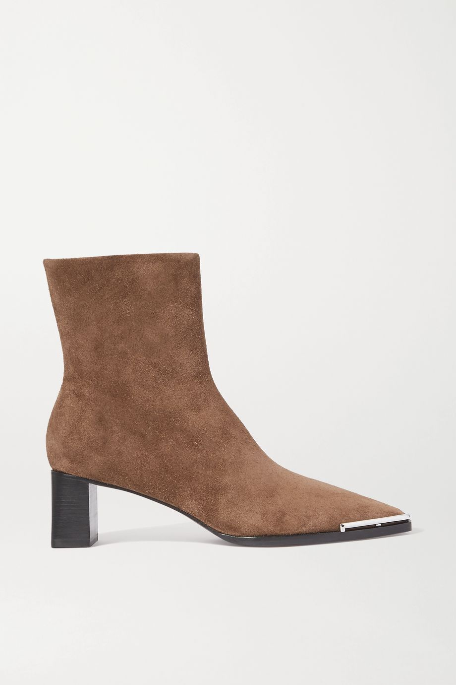 Alexander Wang Mascha embellished suede ankle boots