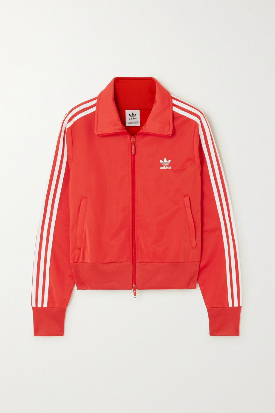 adidas Originals Firebird striped satin-jersey track jacket