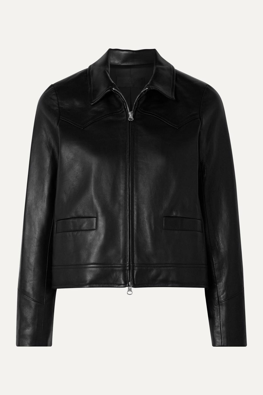 Nili Lotan Jaley leather jacket