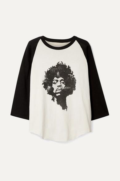 Nili Lotan Tops Printed cotton-jersey top