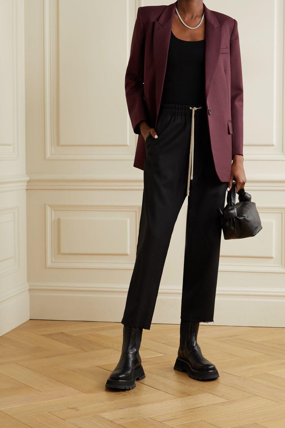Nili Lotan Diane wool-blend twill blazer