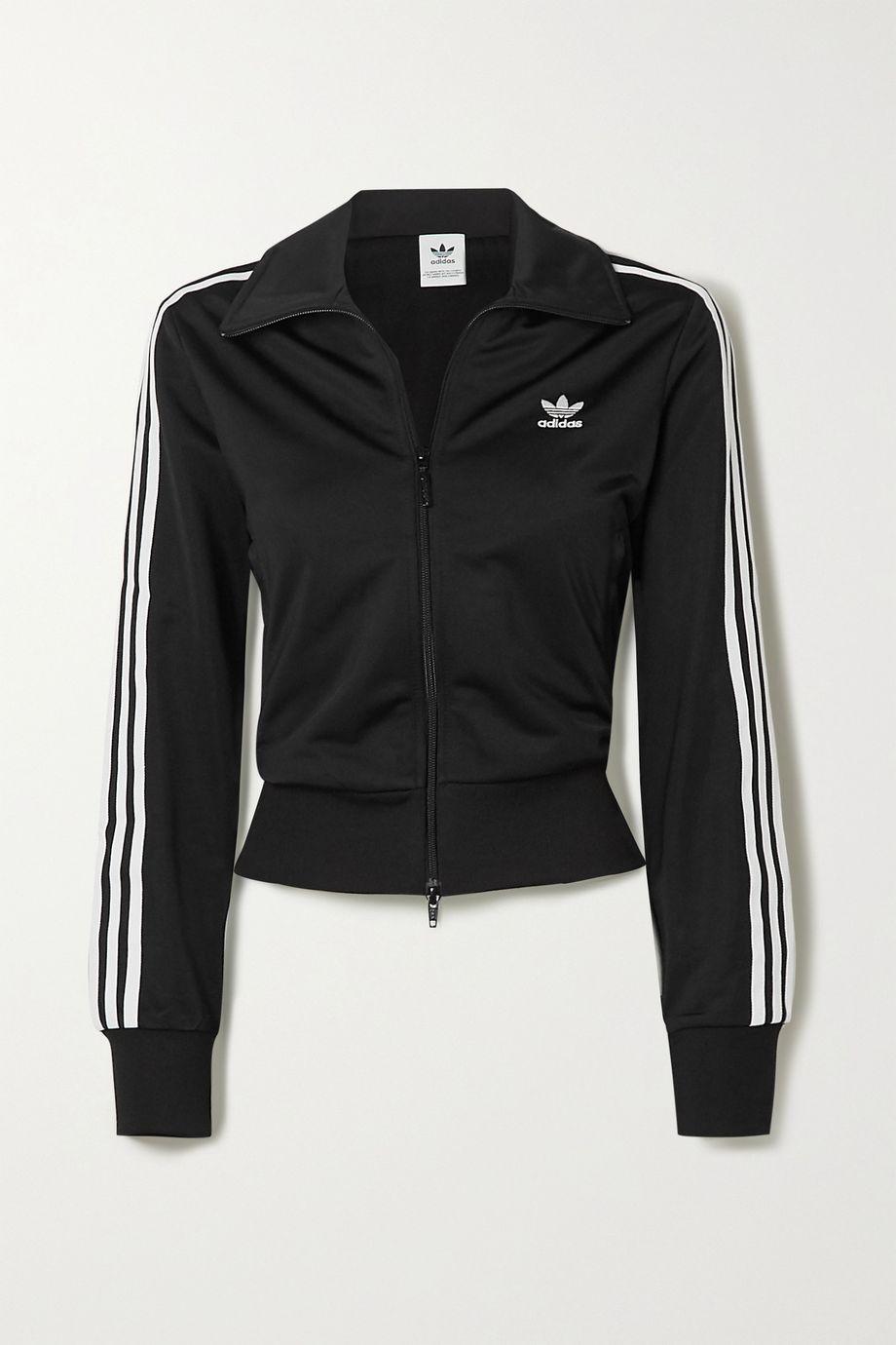 adidas Originals Firebird striped tech-jersey track jacket
