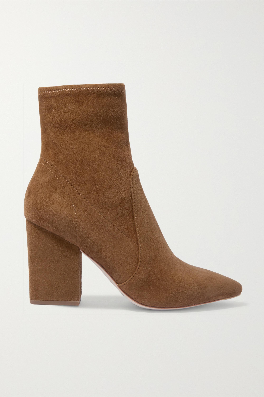 Brown Isla Suede Ankle Boots | Loeffler Randall