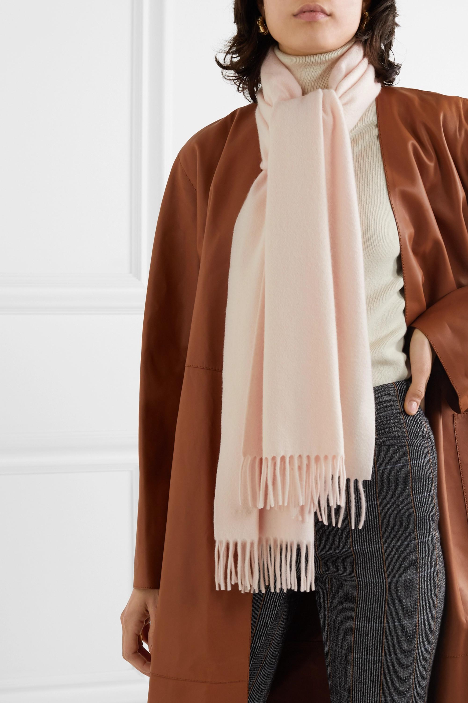 Loro Piana Unita fringed cashmere scarf