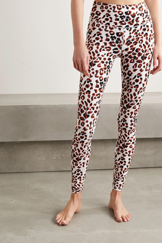 Varley Duncan animal-print stretch leggings