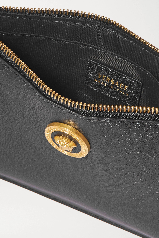 Versace 纹理皮革小袋
