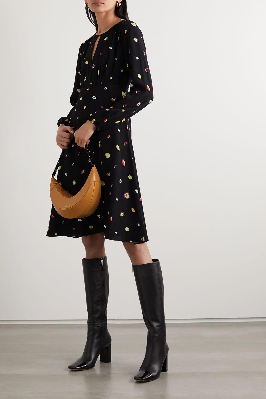 Diane von Furstenberg Andrea printed crepe dress