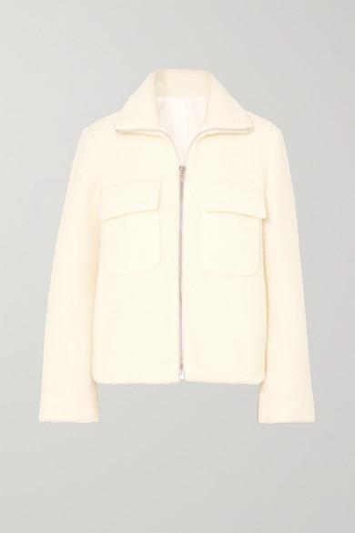 Helmut Lang Jackets Wool-blend bomber jacket