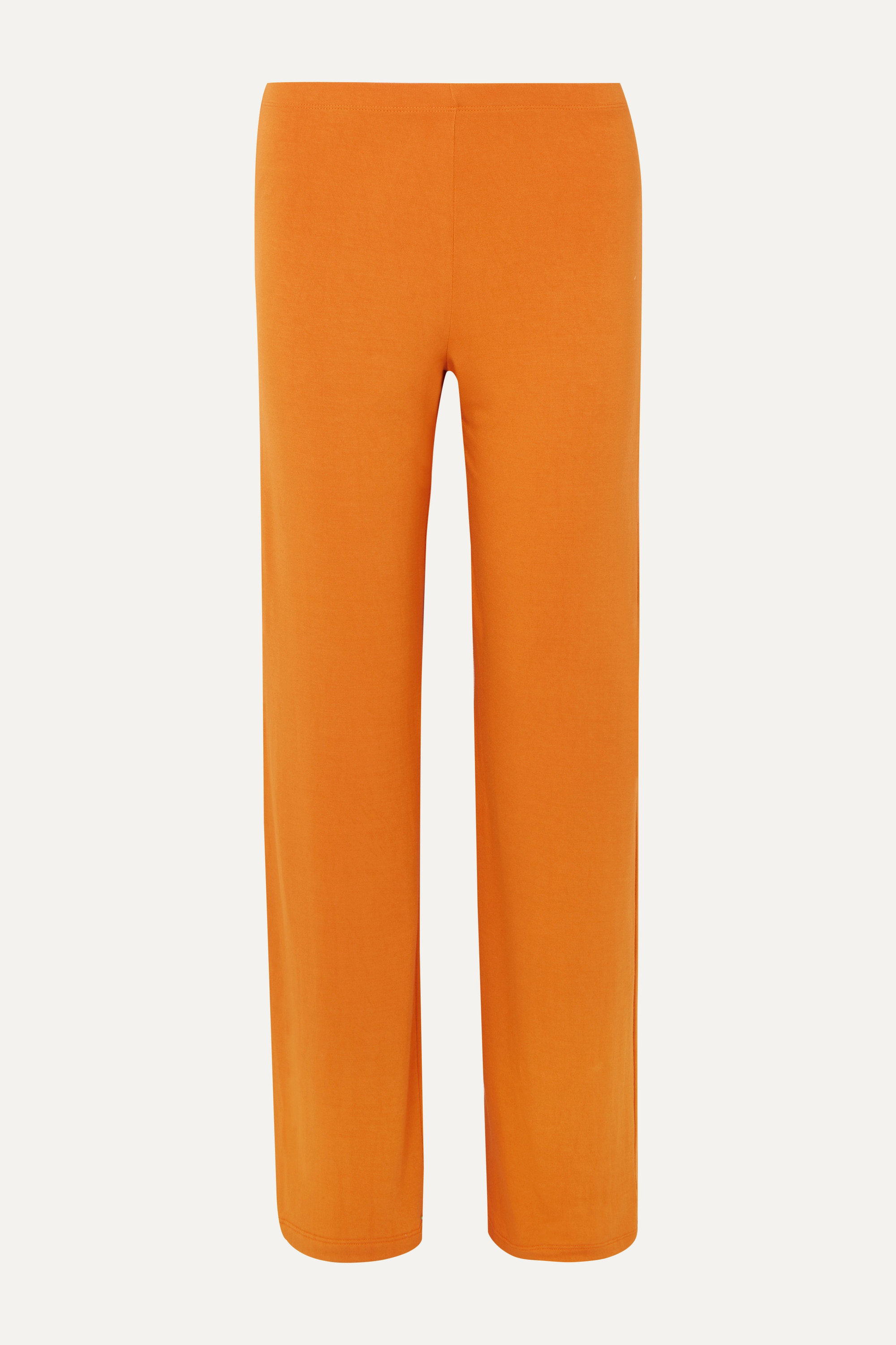 LESET French terry wide-leg pants