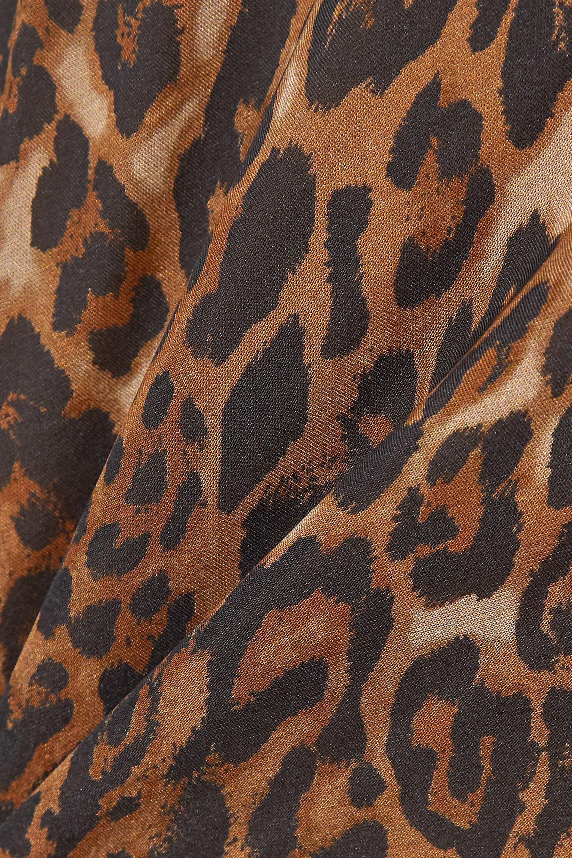 Cami NYC The Carla leopard-print silk-chiffon midi dress
