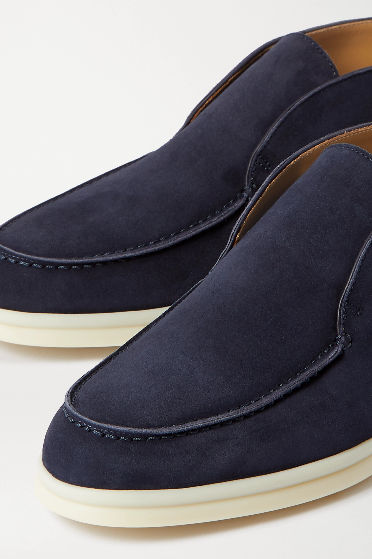 Loro Piana Open Walk suede loafers