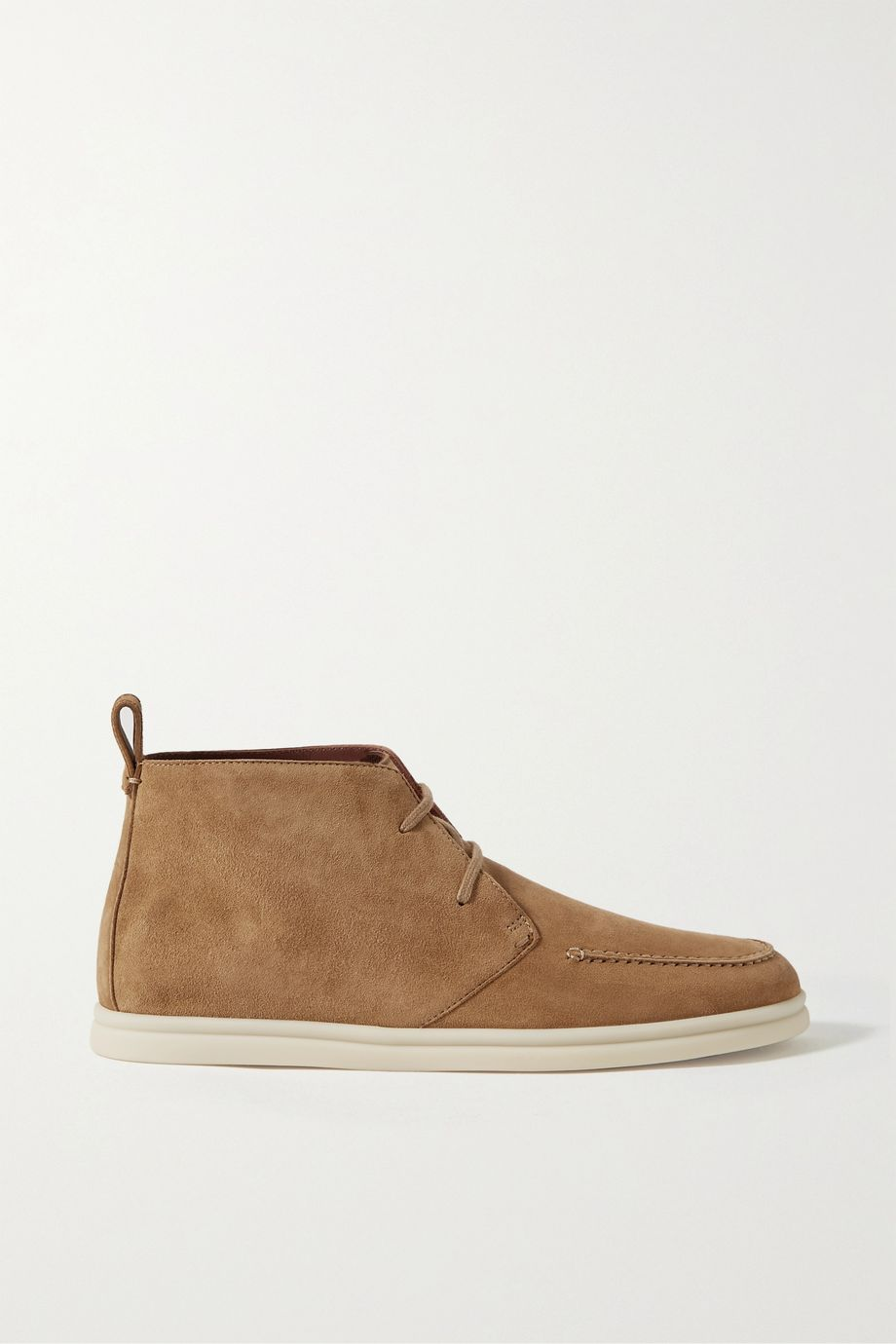 Loro Piana Namib Walk suede ankle boots