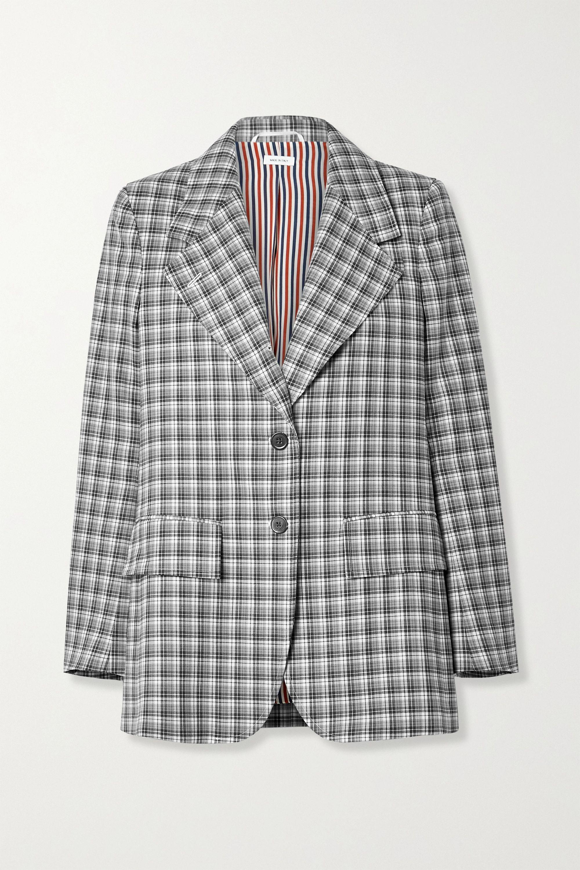 Thom Browne Checked wool blazer