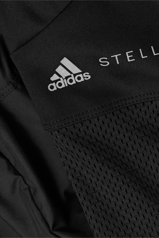 adidas by Stella McCartney Legging stretch à superposition en tissu technique et à finitions en résille Essentials