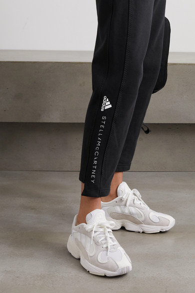 Essentials printed cotton jersey track pants