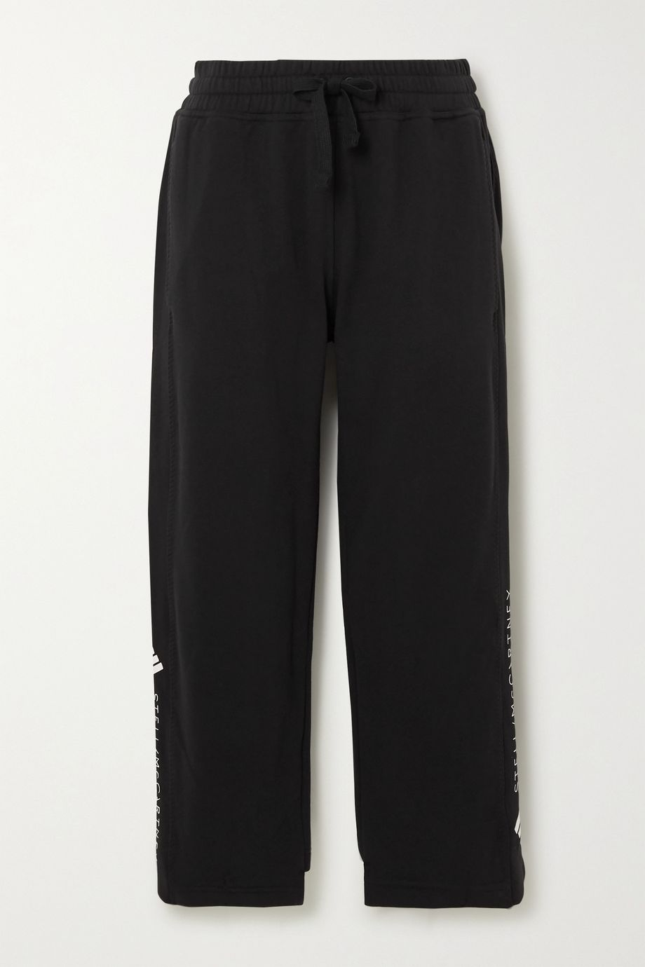 adidas by Stella McCartney Essentials printed cotton-jersey track pants