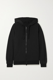 adidas by Stella McCartney Essentials printed cotton-jersey hoodie