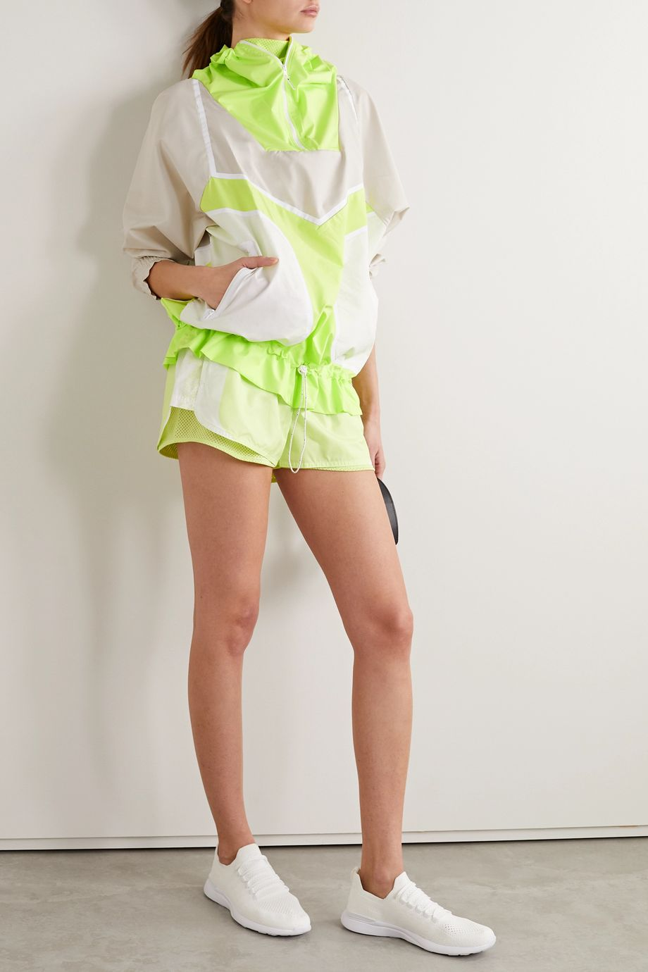 adidas by Stella McCartney Oversized shell jacket